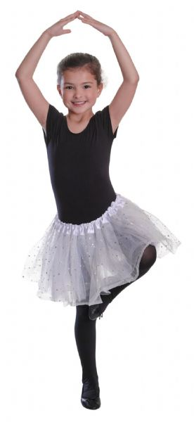 Childs Tutu Ballet Ballerina Tu Tu 80s Disco Pop Fancy Dress Outfit